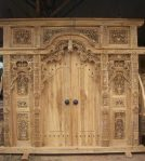 Gebyok Pintu Jepara Antik SKJ 05
