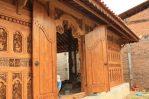 Gebyok Ukiran Jepara 10 Meter Finishing Natural Jati SAJ 13