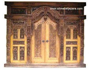 Pintu Rumah Gebyok Kudus Berkualitas Tinggi